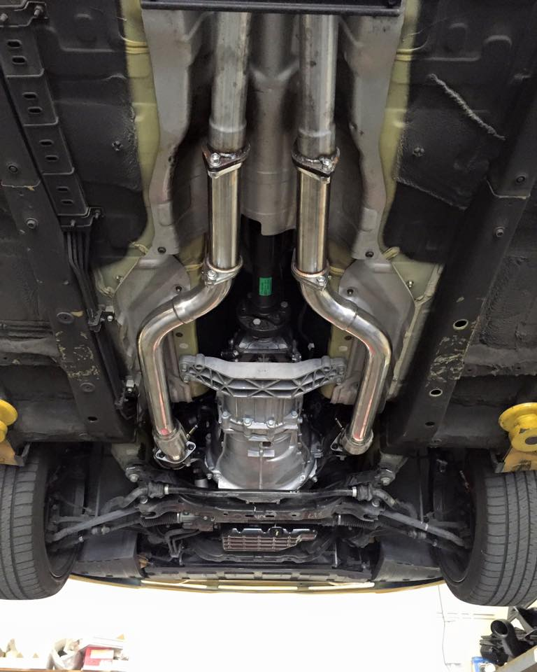 Ark Downpipes & Straight Test pipes Genesis Coupe 3.8 2010 ...