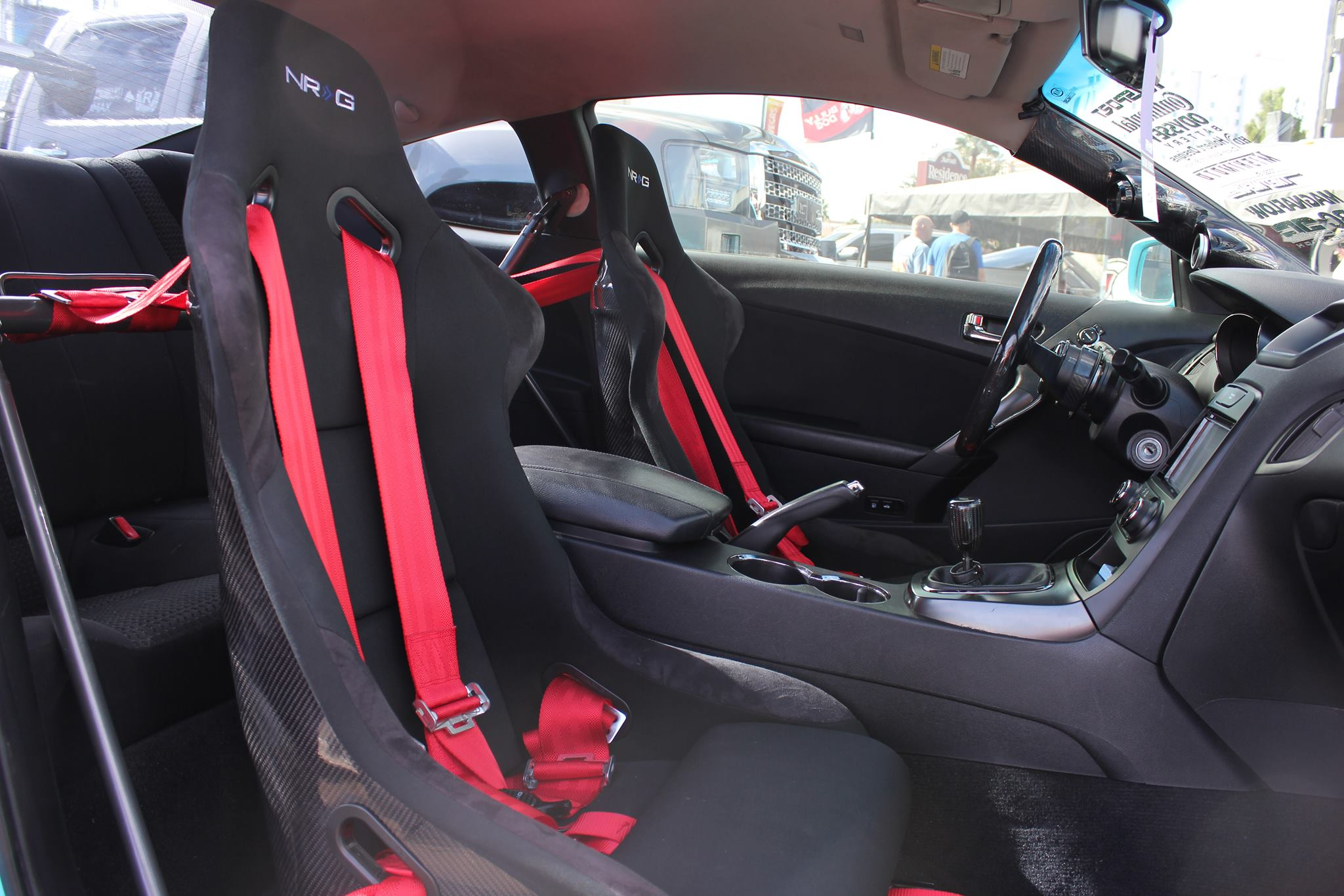 Nrg Innovations Carbon Fiber Bucket Seat