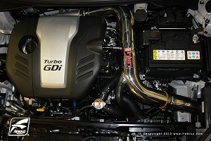 2012 Hyundai Veloster Turbo Injen Cold Air Intake