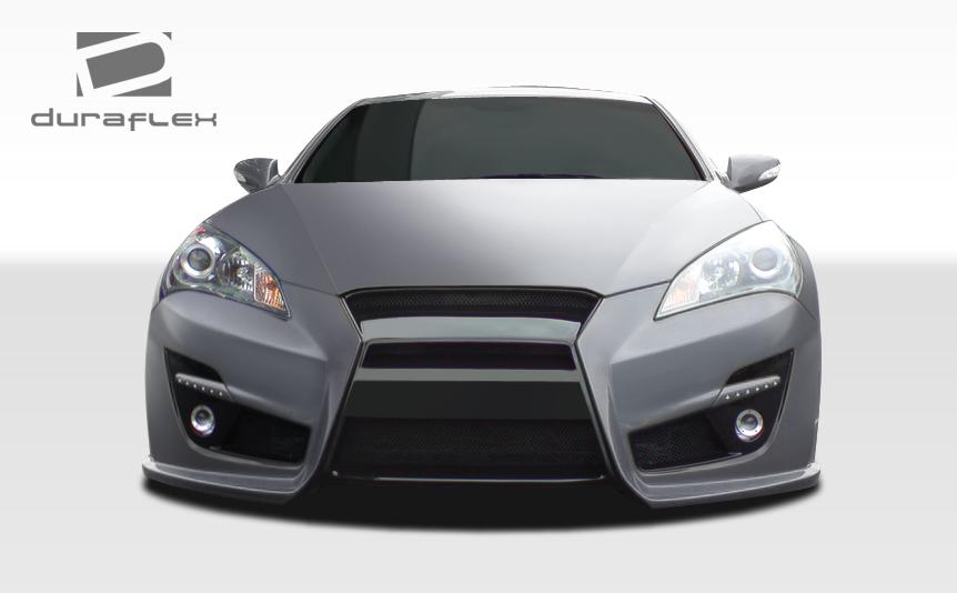 Genesis Coupe Extreme Dimensions Duraflex Tp R Front Bumper 2010 2012