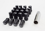 SSR GT-FORGED LUG NUTS: (Black)