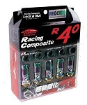 Project Kics Neochrome R40 Revo Lug Nuts