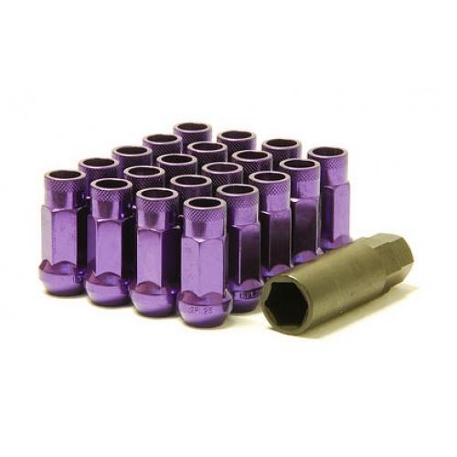 Muteki SR48 Lug nuts - Purple Genesis Coupe 2010 - 2016