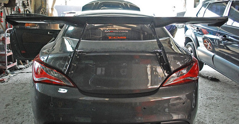 Big Brother Carbon Fiber GT Wing Genesis Coupe 2010 - 2016