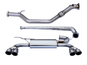 Exceladyne Turbo Back Exhaust System 2.0T 2010 - 2012 Genesis Coupe