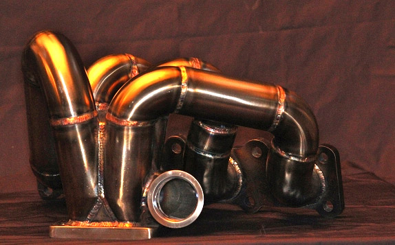 MOCERI FAB WORKS BTR TOP MOUNT TURBO MANIFOLD GENESIS COUPE 2.0T 2010 - 2012