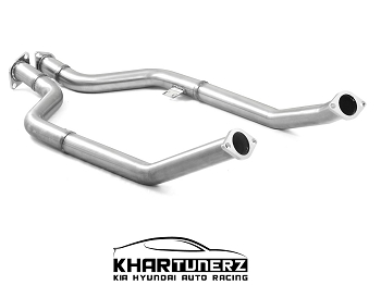 Ark Performance Catless Secondary Downpipes - 2018+ Genesis G70 3.3