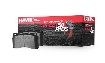 HAWK 5.0 HPS Front Brake Pads - Genesis G70 with Brembo Calipers