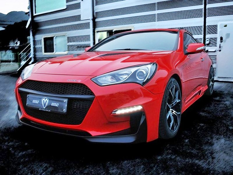 M Amp S Carart Hyper G Front Bumper Type A 2013 Genesis Coupe