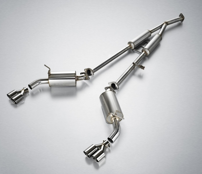 Jun B.L Type R Catback Exhaust Genesis Coupe 2.0T 2010 - 2016