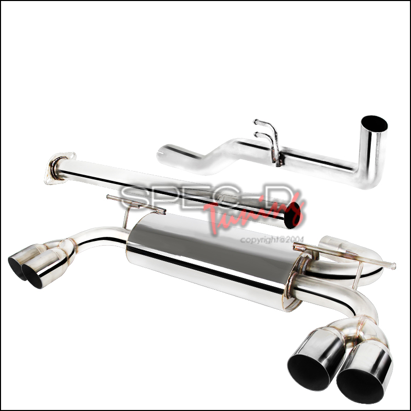 Spec-D STAINLESS STEEL CATBACK EXHAUST Genesis Coupe 2.0T 2010 - 2014