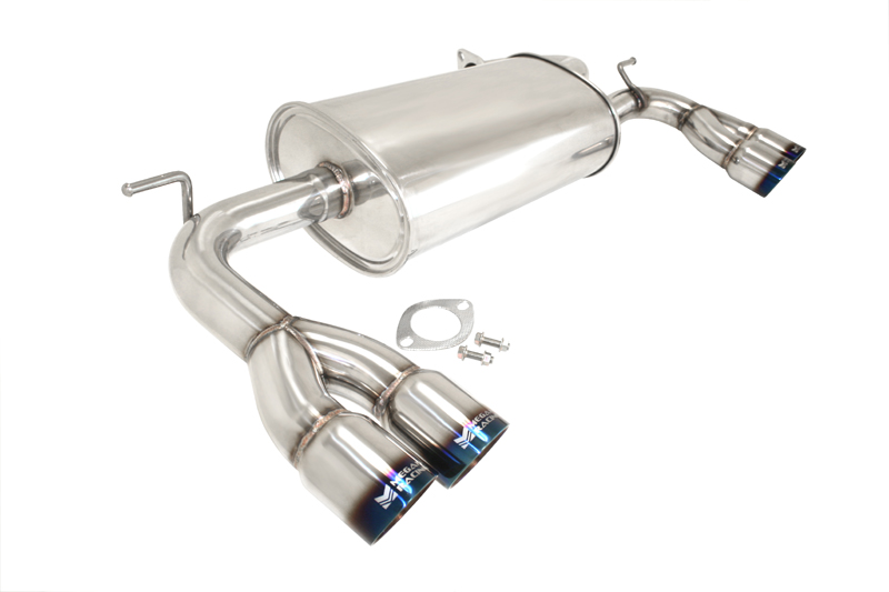 megan racing axleback 2 0t and 3 8 genesis coupe shop now