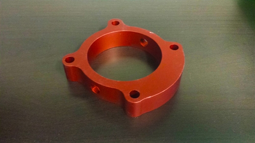 P2R Throttle Body Spacer Genesis Coupe 2.0T 2013 - 2014