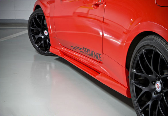 Sequence Spec-RS Sideskirts Genesis Coupe 2010 - 2016