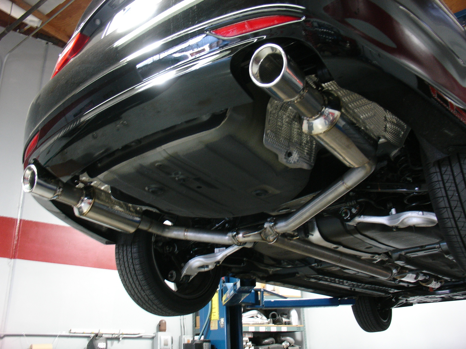 2011 2015 Kia Optima Turbo Injen Catback Exhaust System