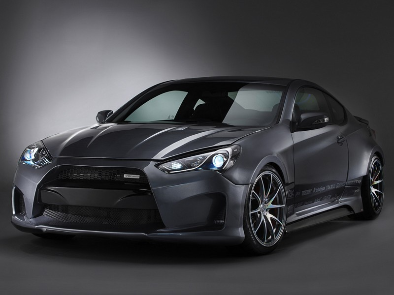 2013 Hyundai Genesis Coupe For Sale >> Ark S-FX Legato Front Wide Body Kit Genesis Coupe 2013+