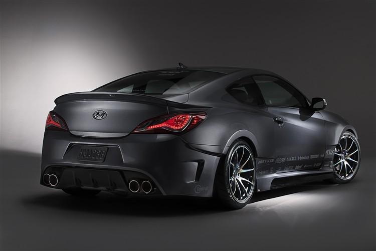 Ark S Fx Legato Trunk Spoiler 2010 2013 Hyundai Genesis