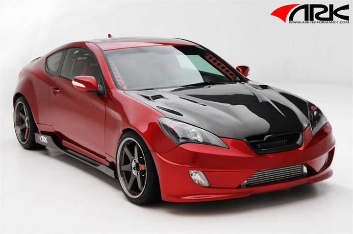 Hyundai Elantra Coupe >> ARK S-FX Complete Body Kit, 5pcs 2010 - 2012 Genesis Coupe