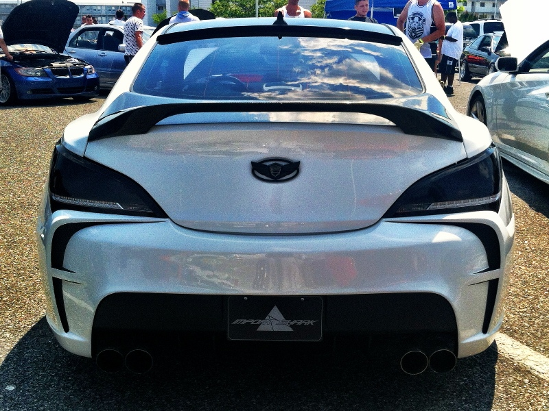 Vega Rear Bumper Genesis Coupe 2010 - 2014
