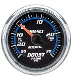 Autometer Cobalt 52mm 30 PSI Electronic Boost Gauge