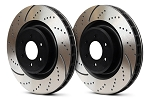 2010-2013 Kia Forte (Sedan/Koup/Hatch)/Soul EBC GD Slotted Rear Rotors