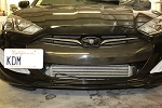 2013 Hyundai Genesis Coupe Center Grill Overlay