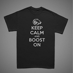 Keep Calm and Boost On