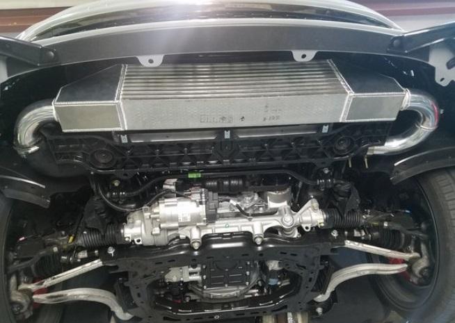 Ultimate Performance Front Mount Intercooler Upgrade - 2018 Kia Stinger  3 3TT