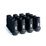 BLOX FORGED ALUMINUM LUG NUT: 12x1.50 Flat Black(20PC)