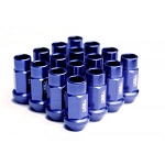 BLOX FORGED ALUMINUM LUG NUT: 12x1.50 Blue(20PC)
