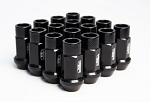 BLOX FORGED ALUMINUM LUG NUT: 12x1.50 Black(20PC)