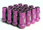BLOX FORGED ALUMINUM LUG NUT: 12x1.50 Purple(20PC)
