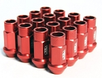 BLOX FORGED ALUMINUM LUG NUT: 12x1.50 (20PC/RED)