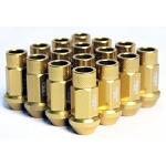 BLOX FORGED ALUMINUM LUG NUT: 12x1.50 Gold(20PC)