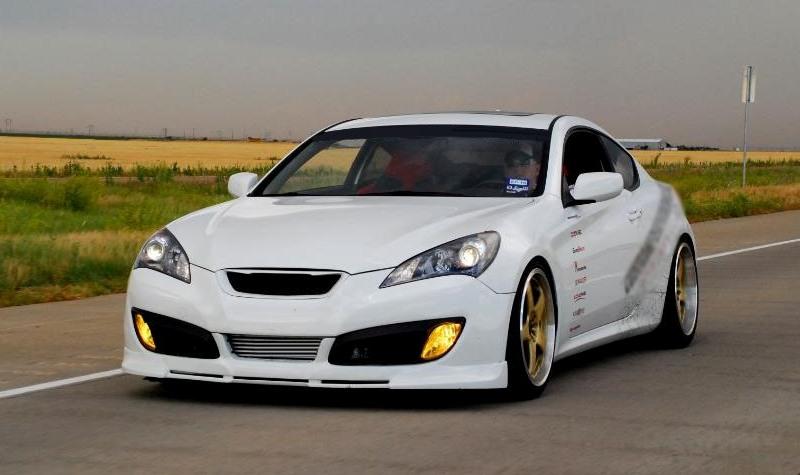 Genesis Coupe Prodigy Polyurethane Front Lip 2010 2012