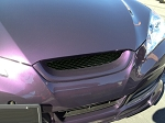 Genesis Coupe RTS Front Grill (Fiberglass)