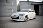 2012+ Hyundai Veloster Non-Turbo Sequence Spec-1 Front Lip