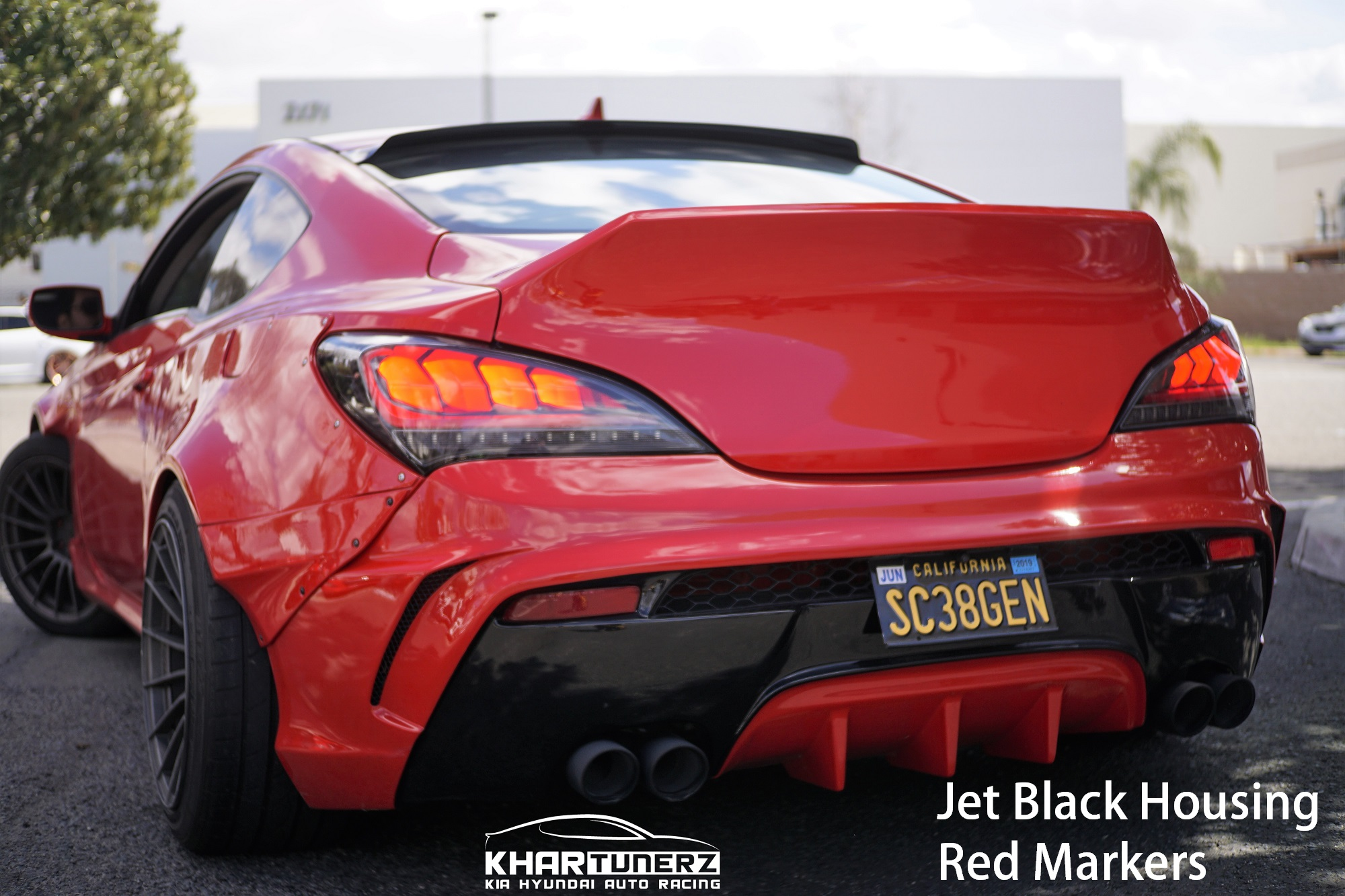 2010 2016 Genesis Coupe Spec D Tuning Tail Lights