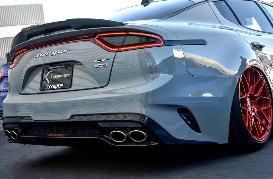 Kia Optima 2019 >> Spreek by KeenDesign Carbon Fiber Spoiler - Kia Stinger 2018+
