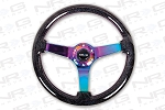 Black Sparkled Wood Grain Wheel (3
