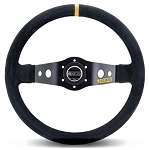 Sparco 215 Competition Black Suede Steering Wheel 350mm