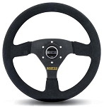 Sparco 323 Competition Black Suede Steering Wheel 330mm