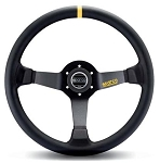 Sparco 325 Competition Black Leather Steering Wheel 350mm