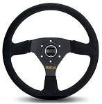 Sparco 333 Competition Black Suede Steering Wheel 330mm