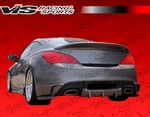 Vis Racing Tornado Rear Bumper Add On Genesis Coupe 2010 - 2013