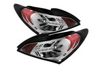 Spyder Auto Hyundai Genesis 09-11 LED Tail Lights - Chrome