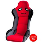 Buddy Club Racing Spec Bucket Seat (Regular) - Red