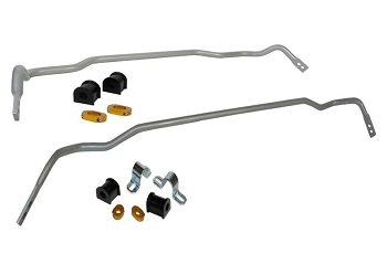 Whiteline 24mm Front Sway Bar & Rear 18mm Sway Bar W/O Endlinks Kia Stinger 2017-2019