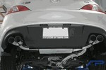 Genesis Coupe Agency Power Catback Exhaust 2.0 Turbo Titanium tips 2010 - 2012