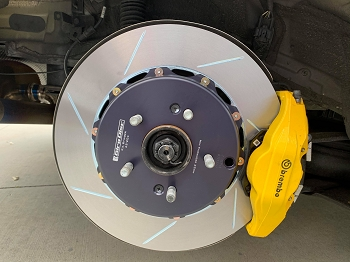 Girodisc 2 Piece Slotted Rear Rotor Kia Stinger - Brembo ONLY